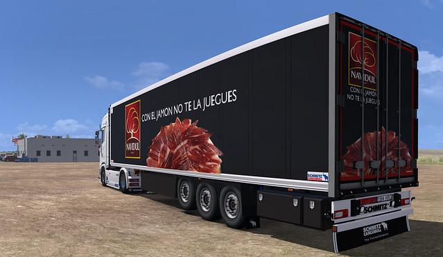 Scania S650 + Schmitz SKO Navidul