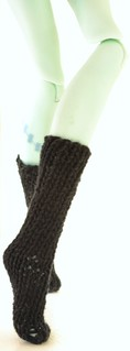 Monster High - Knee Highs (Free Knitting Pattern)