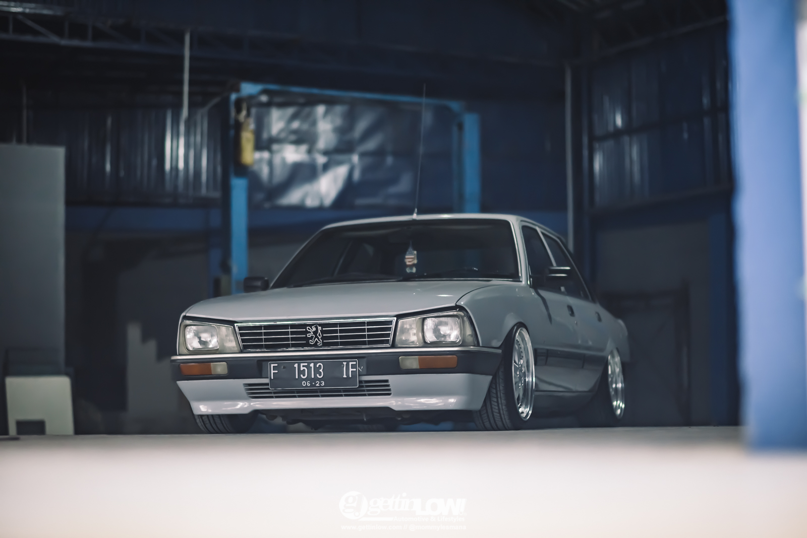 Lowered To The Max Ekkitambo S 1988 Peugeot 505 Gti Gettinlow