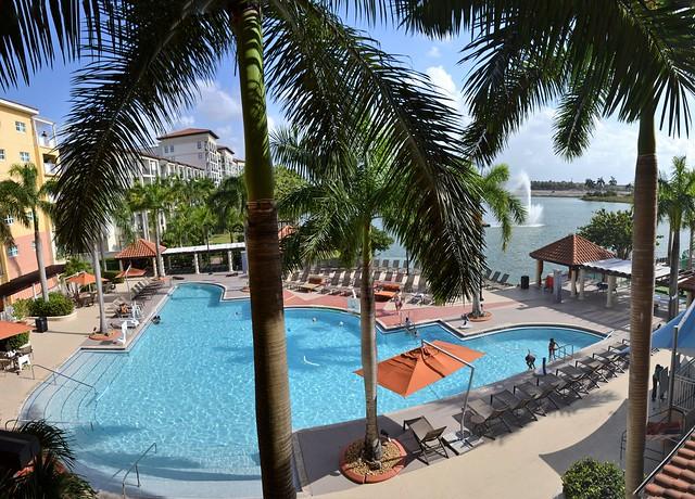 Marriott Villas at DORA hotel pool. Nikon D3100. DSC_0145-0150