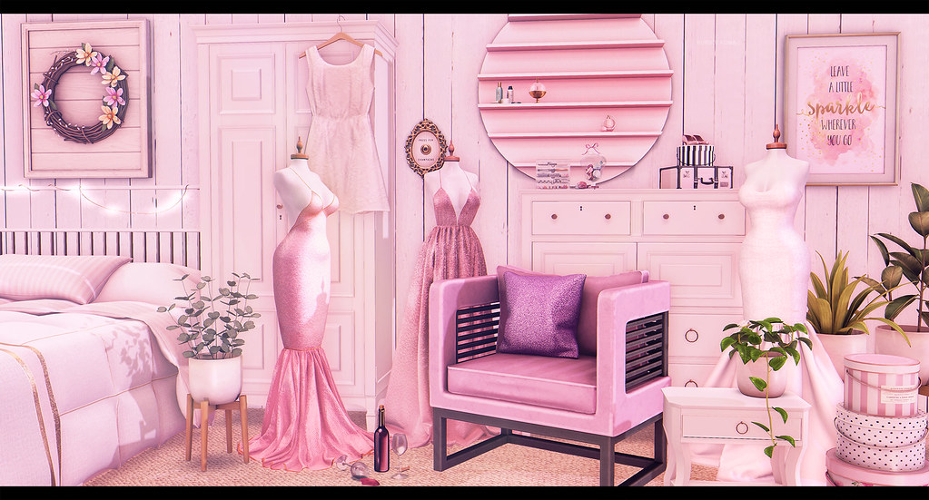The dress room