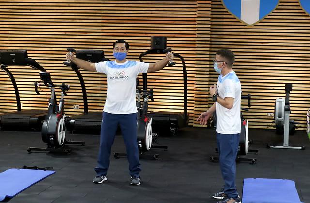 Activación física virtual 2020/ Día Olímpico