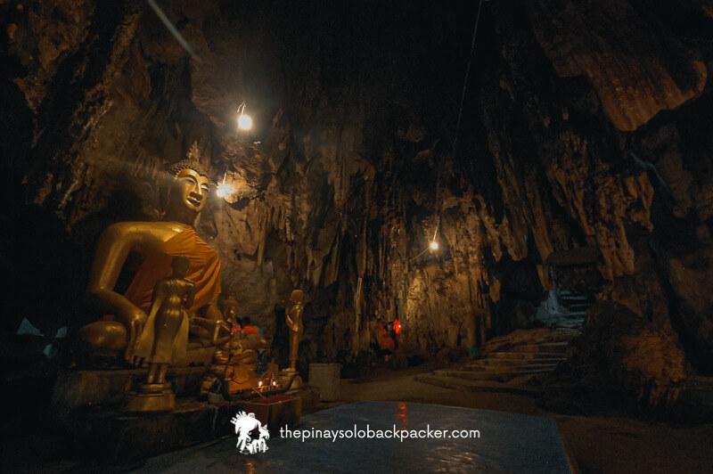 kanchanaburi itinerary: KAOPOON CAVE TEMPLE