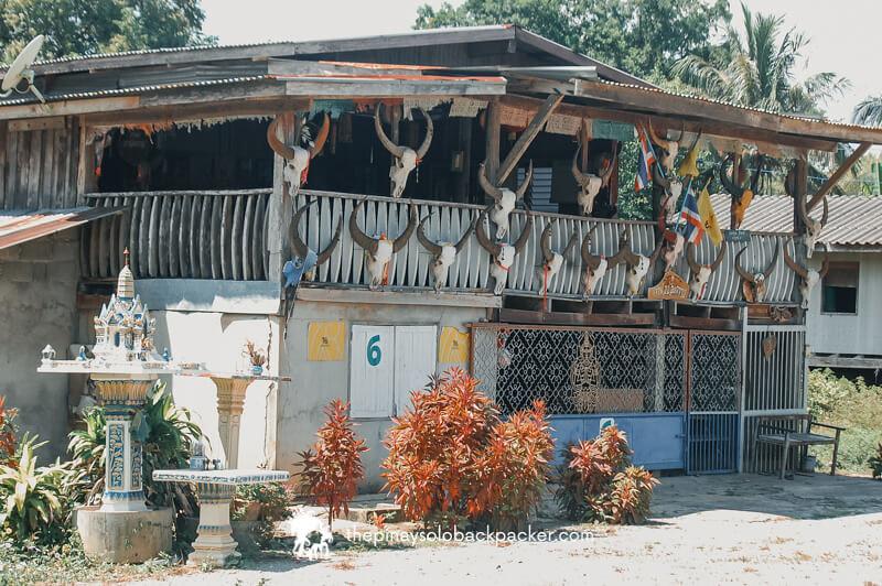 Kanchanaburi house