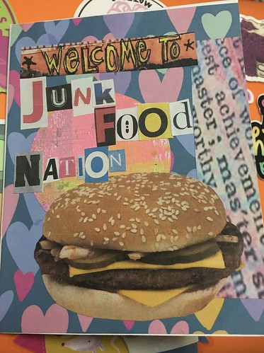One Sheet Art Book (cover)--Junk Food | by kiddomerriweather
