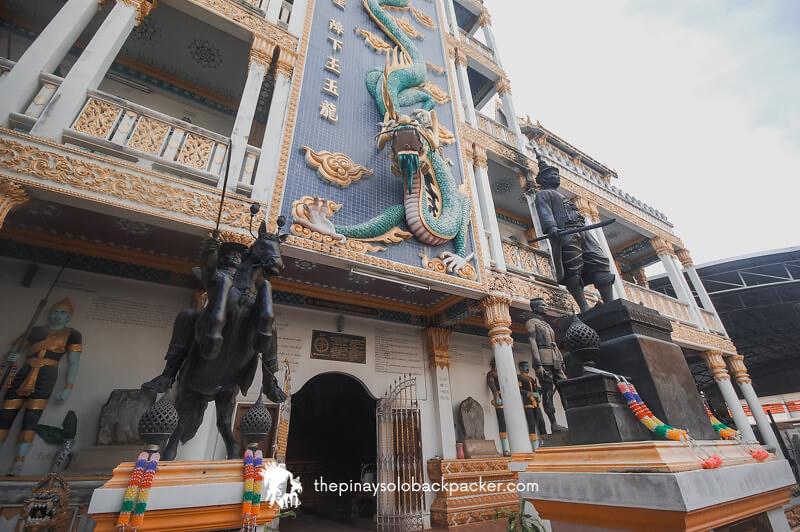 kanchanaburi war museum temple