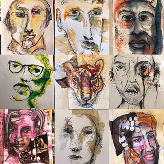 Art Journal J237 Stranger In The Zoom Meeting