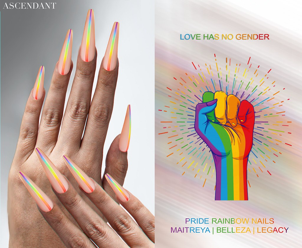 Ascendant – Pride Rainbow Nails GROUP GIFT