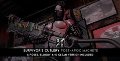 Skellybones - Survivor's Cutlery - Post-Apoc Machete @ Aenigma