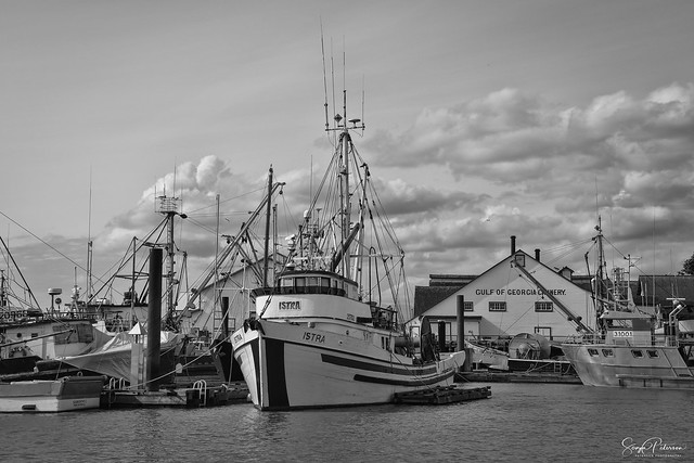ISTRA, Fishing Vessel c. 1957- Steveston Harbour