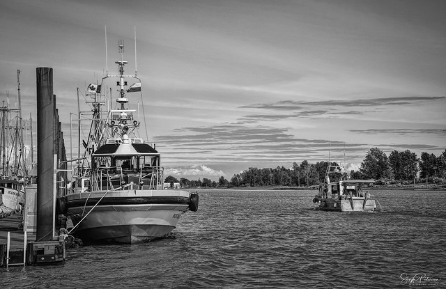 Pilot Vessel DALENA PACIFIC NAVIGATOR - Steveston Harbour