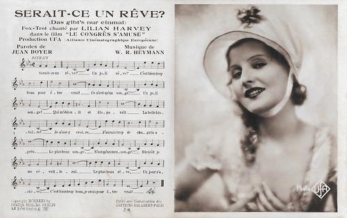Lilian Harvey in Le congrès s'amuse (1931)