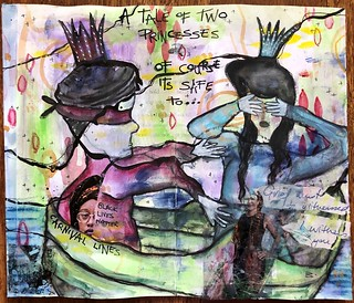 Art Journal J239 Two Princesses
