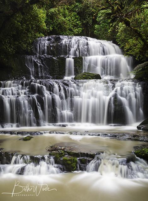 Purakaunui Falls 2