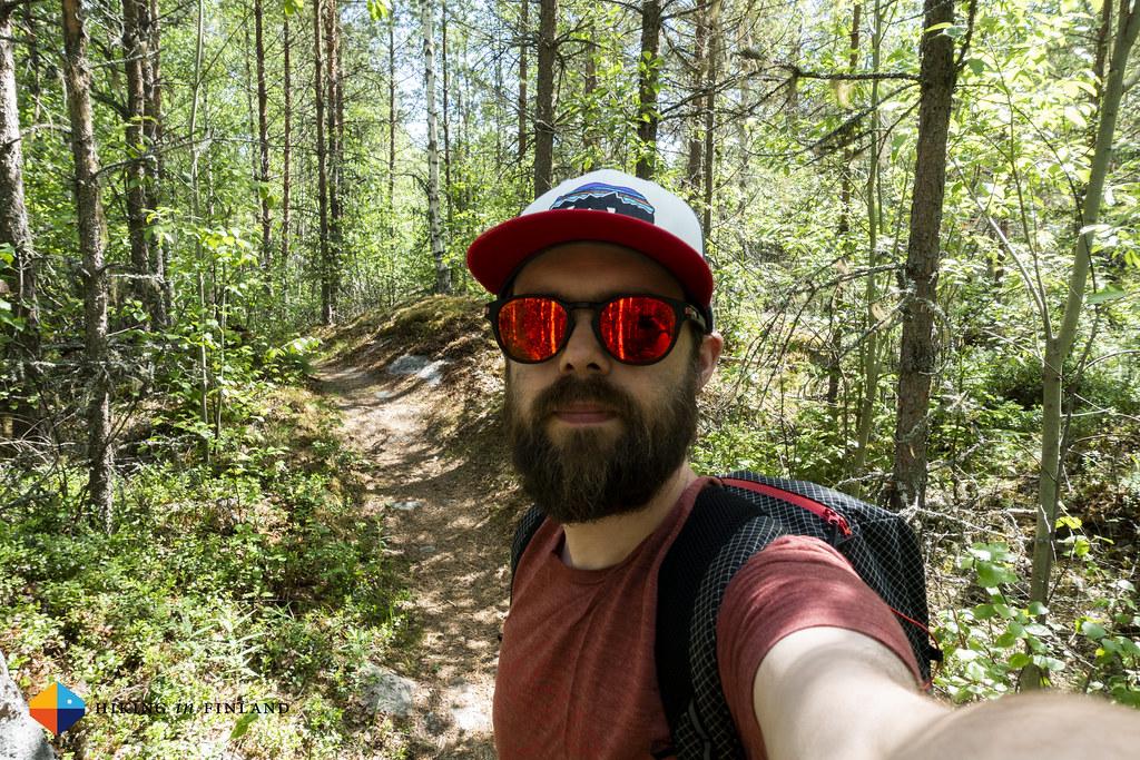 Selfie on the Mälsorleden