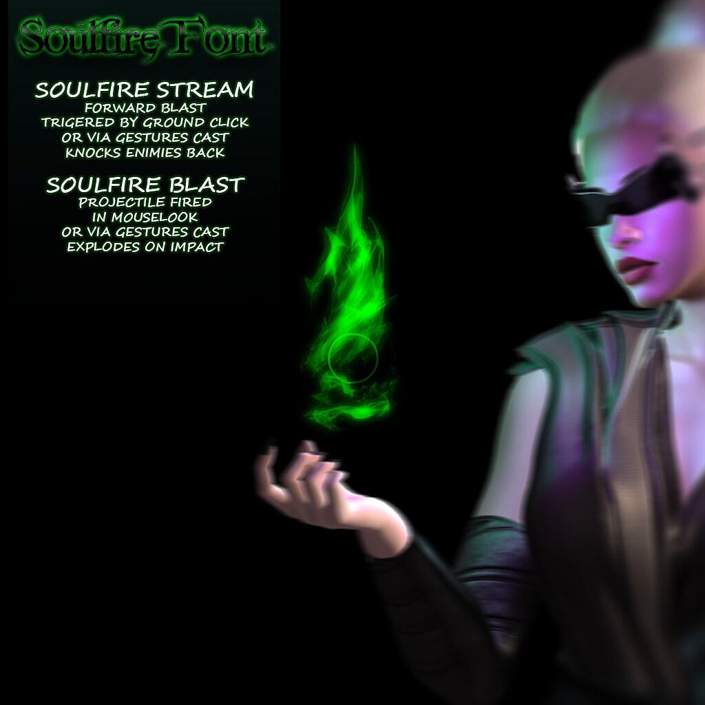 Soulfire Font Ad