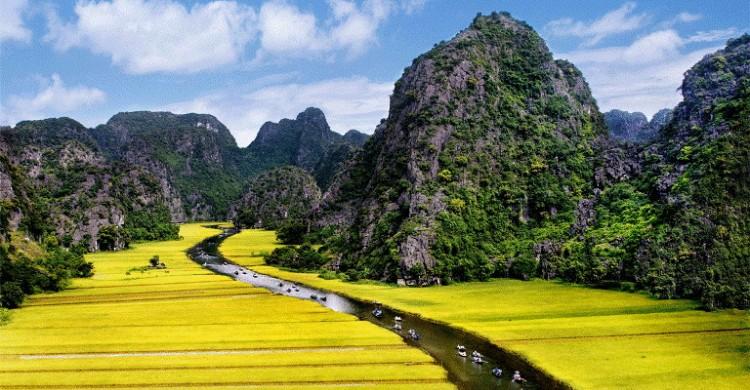 Tam Coc 風景