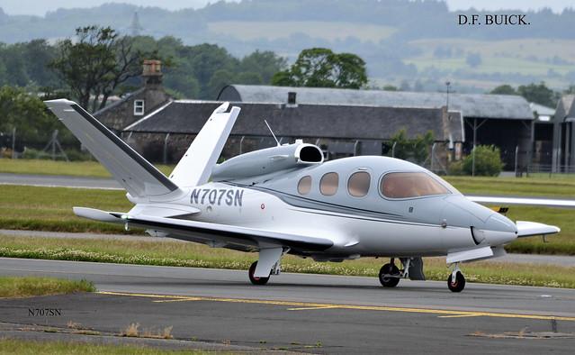 N707SN CIRRUS SF-50 VISION