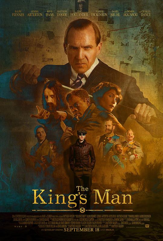 Filem THE KING'S MAN Rilis Poster & Trailer Terbaharu