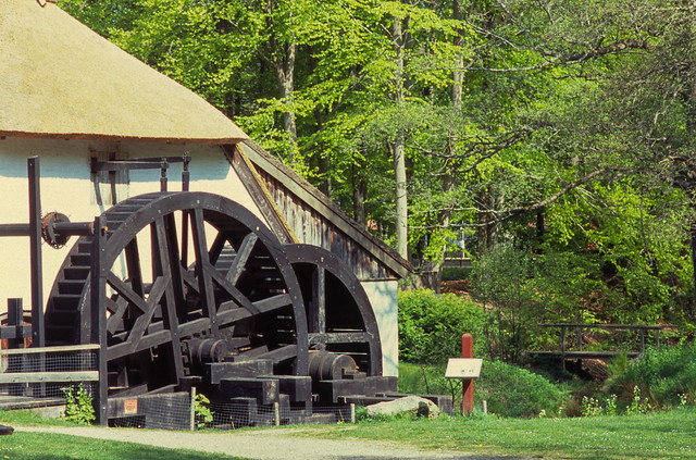 At the old watermill