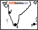 KSEEB Class 10 Geography Important Questions Chapter 2 Indian Physiography 2