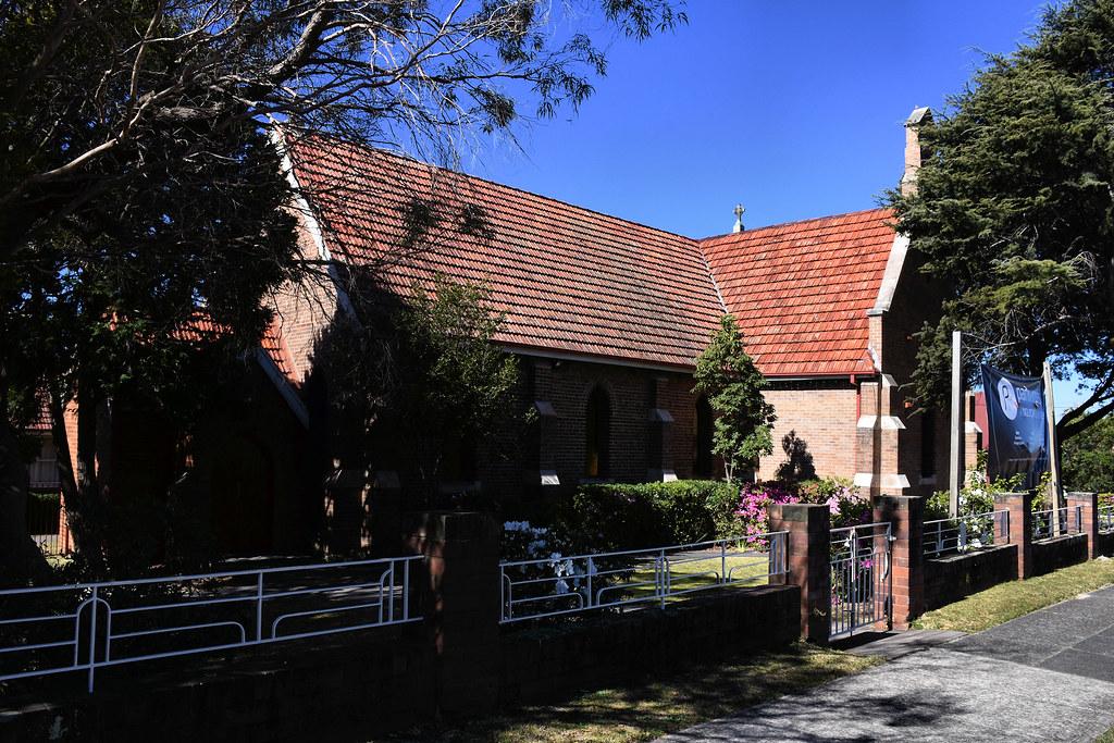 Park Road Anglican Church, Carlton, Sydney, NSW.
