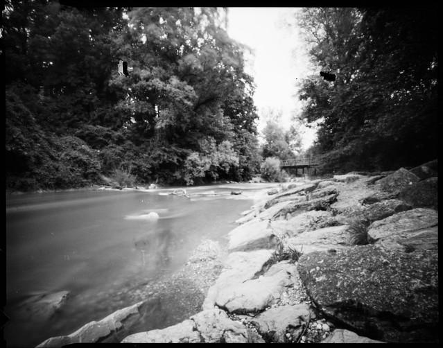 Stream and bridge (Ondu 4x5)