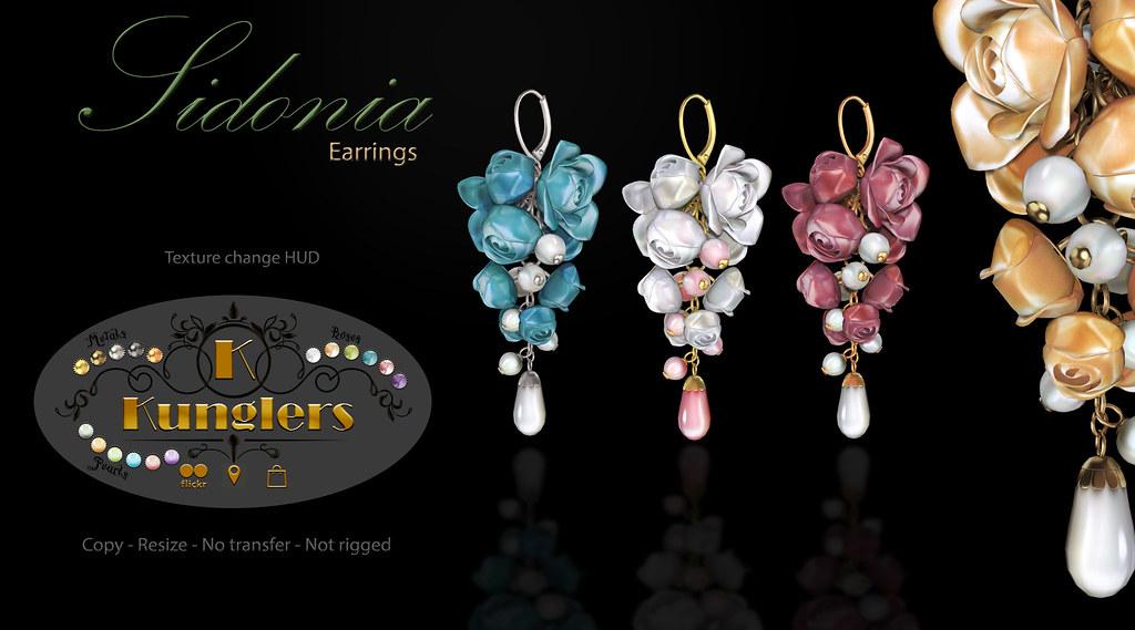 KUNGLERS – Sidonia earrings