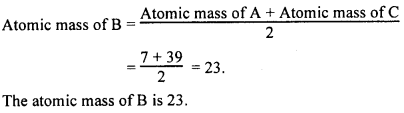 KSEEB Class 10 Science Important Questions Chapter 5 Periodic Classification of Elements img5