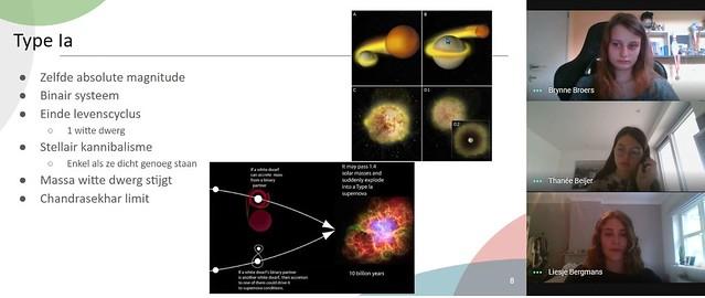 Internationale Astronomische Unie vermeldt leerlingen SAB