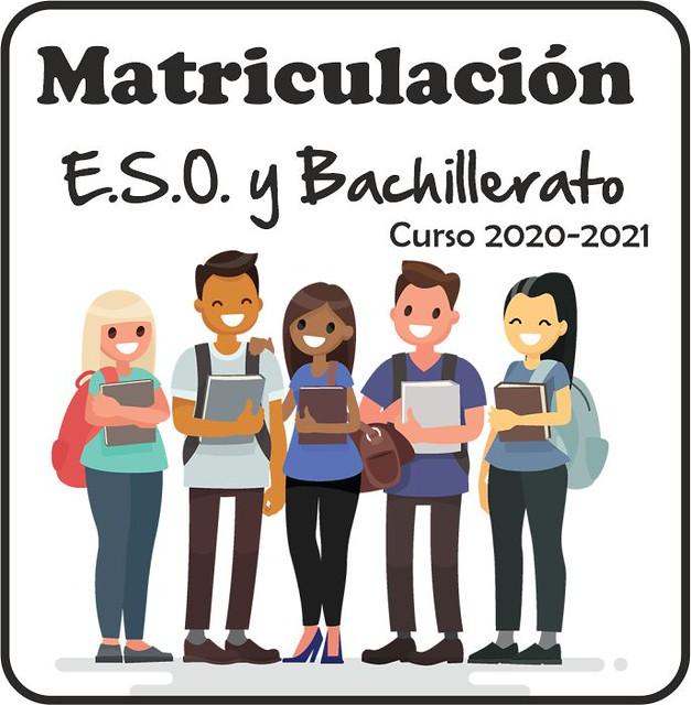 Matriculación ESO y Bachillerato