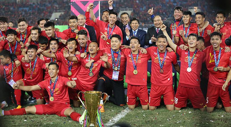 ベトナムサッカー試合