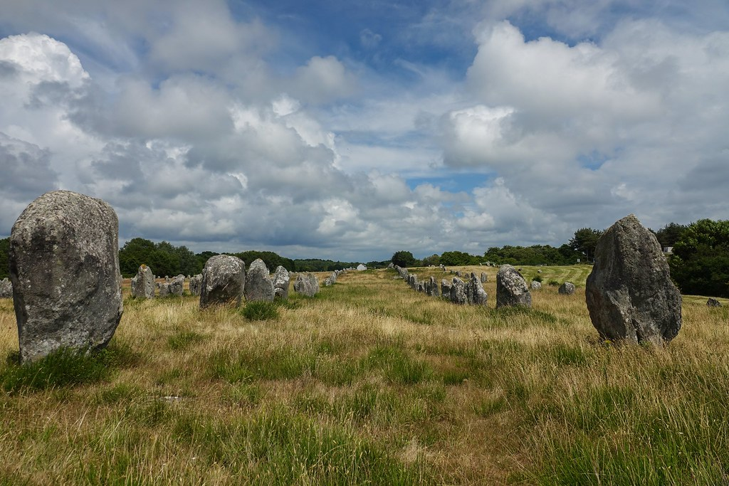 Carnac stones - Brittany - France