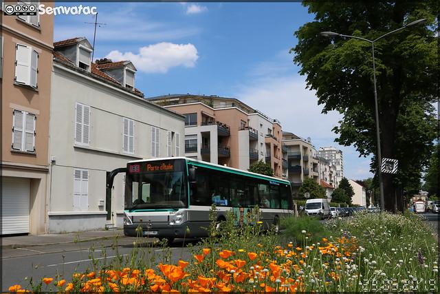 Irisbus Citélis 12 – RATP (Régie Autonome des Transports Parisiens) / Île de France Mobilités n°8637