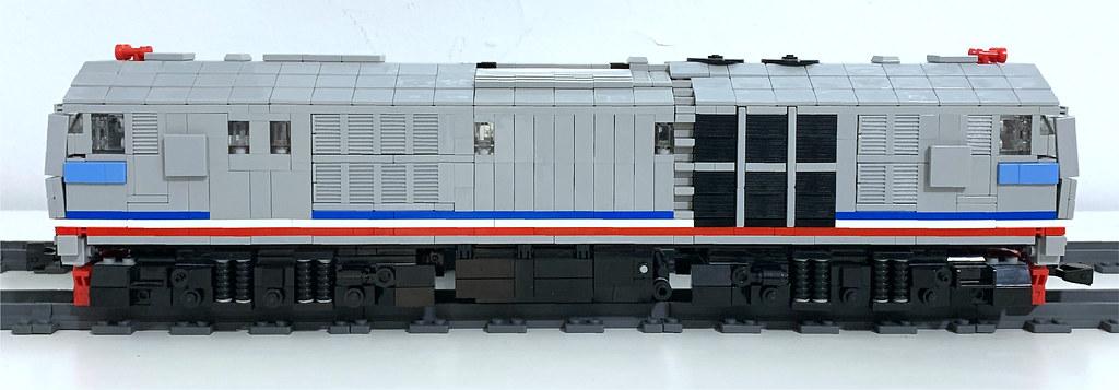 LEGO KTMB 24 Class Side View