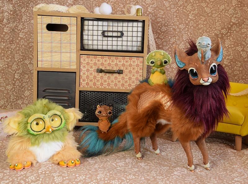 Art dolls & Custom Toys (Lilico, Oso Polar, etc) - Page 32 50033153532_86e4452054_c