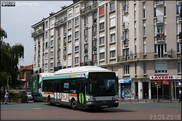 Irisbus Agora S GNV – RATP (Régie Autonome des Transports Parisiens) / Île de France Mobilités n°7090