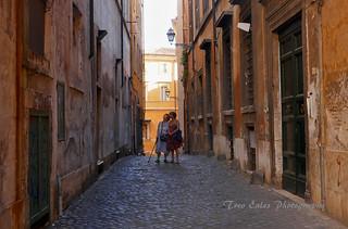 Revisiting the past: Jewish Ghetto, Rome