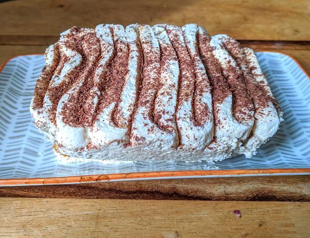 Chicory Root Tiramisu from Chef Tommy Banks