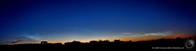 Noctilucent Cloud Panorama 21/06/20