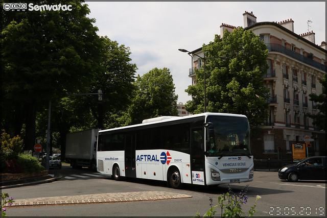 Iveco Bus Crossway – Aftral n°2243 FC