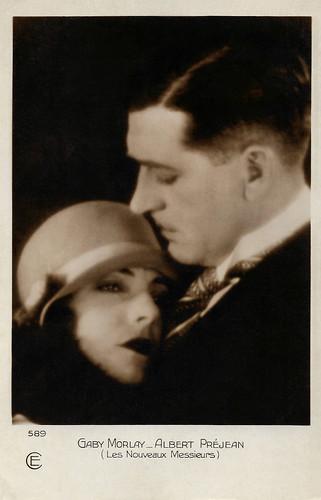 Albert Préjean and Gaby Morlay in Les nouveaux messieurs (1928)