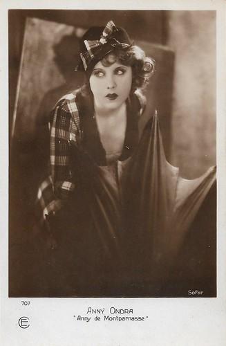 Anny Ondra in Sündig und süß / Anny de Montparnasse (1929)