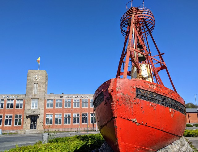 Nelson Bell-Boat Buoy and Preston Dock Offices