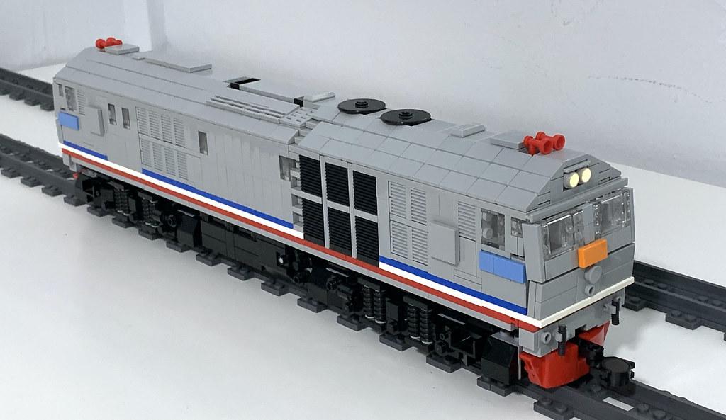 LEGO KTMB 24 Class Top View