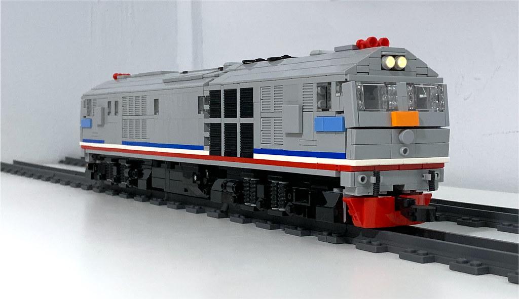 LEGO KTMB 24 Class Front View
