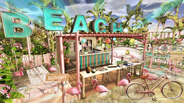 {Blog 481} Beach Party