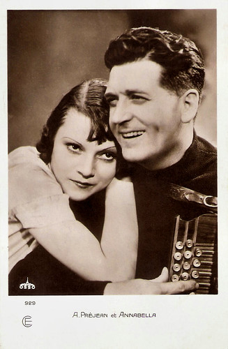 Albert Préjean and Annabella in Un soir de rafle (1931)