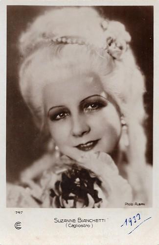 Suzanne Bianchetti in Cagliostro (1929)