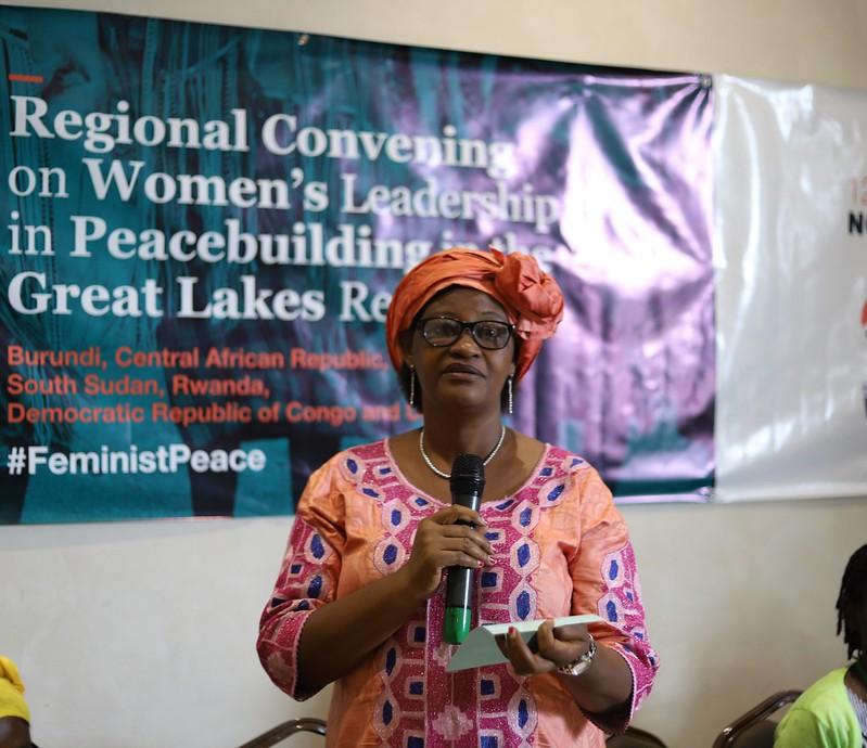 Regional Convening on Women's Leadership in Peacebuilding in the Great Lakes Region